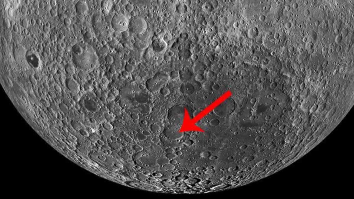 Зонд NASA зафиксировал посадку Chang'e 4 на Луне: фото