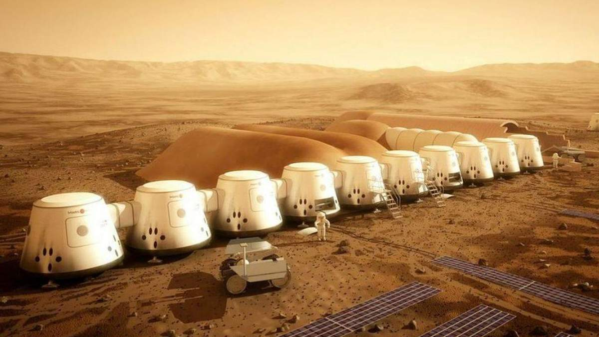 Проект колонії на Марсі