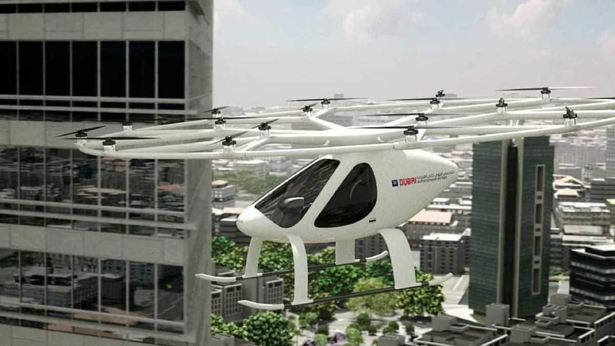 Один из концептов летающего транспорта