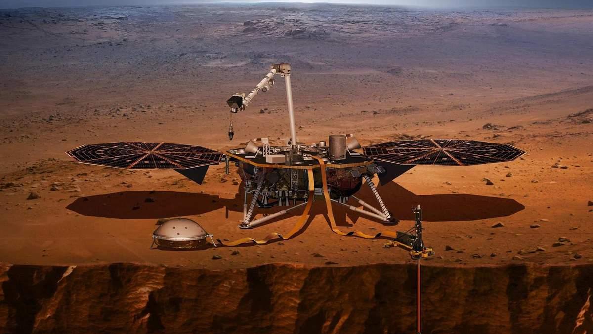 Зонд InSight завершив встановлення приладів на поверхні Марса