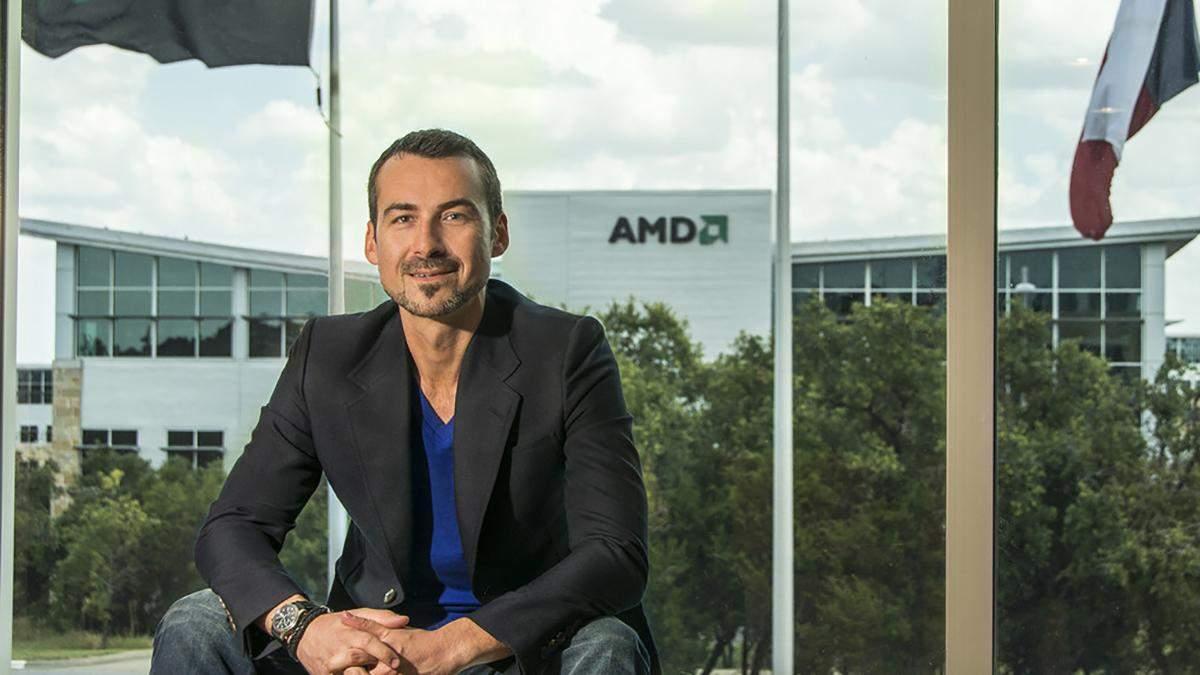 Директор з маркетингу AMD Саша Марінковіч