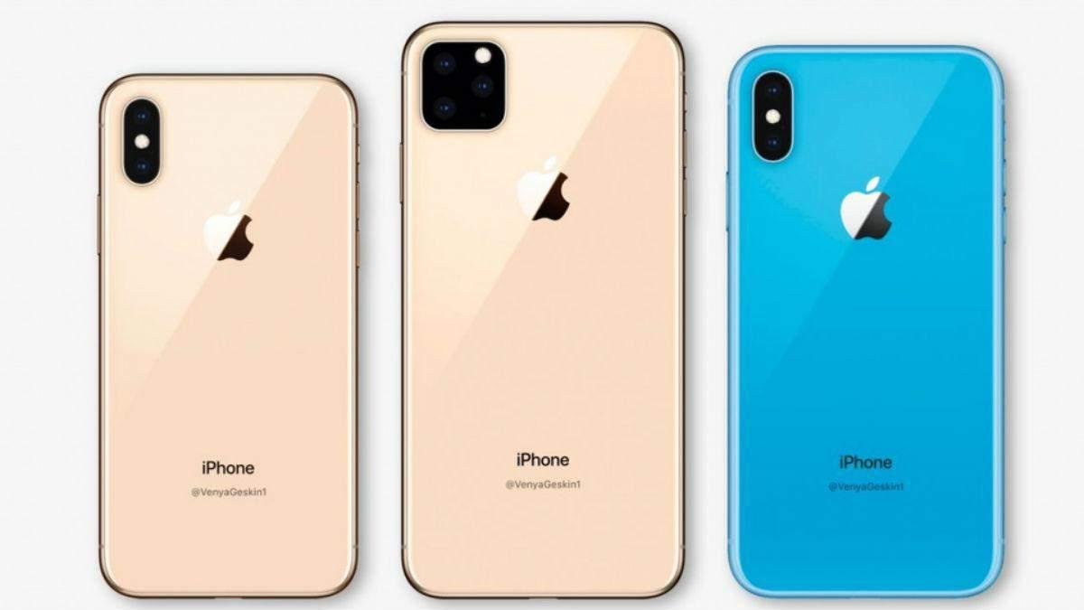 Один з прототипів iPhone 2019