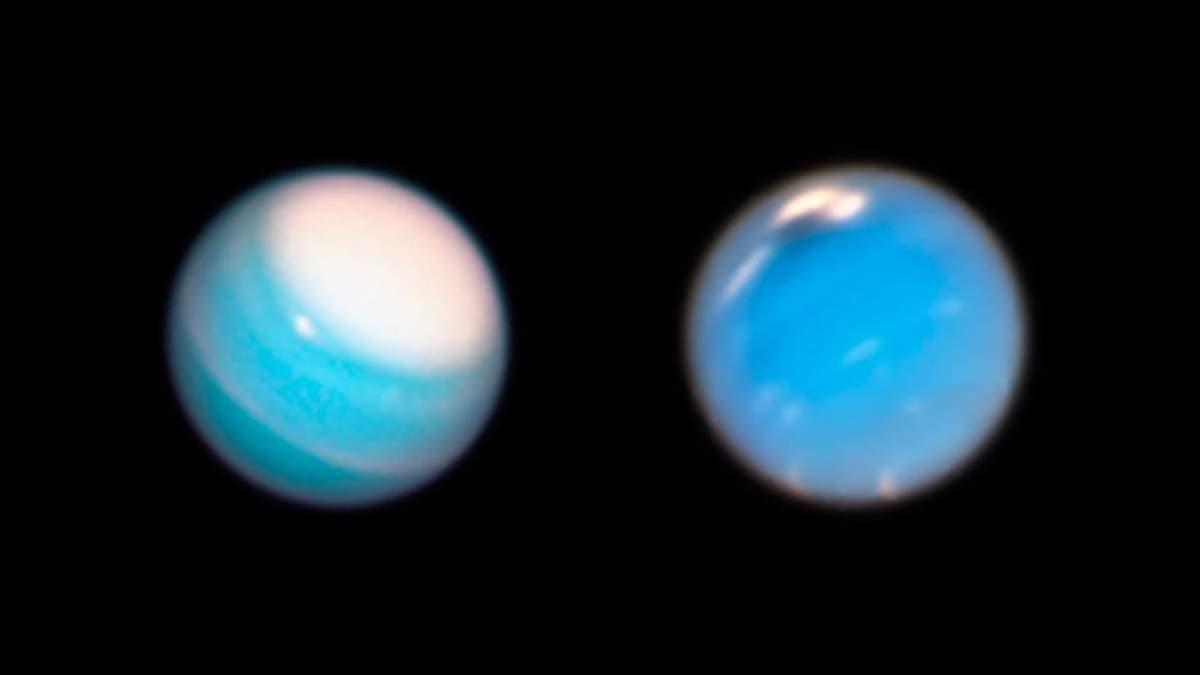 Телескоп Hubble сделал новые невероятные фото Урана и Нептуна