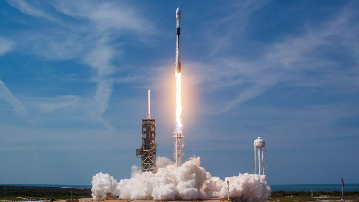 Запуск ракети SpaceX Falcon 9