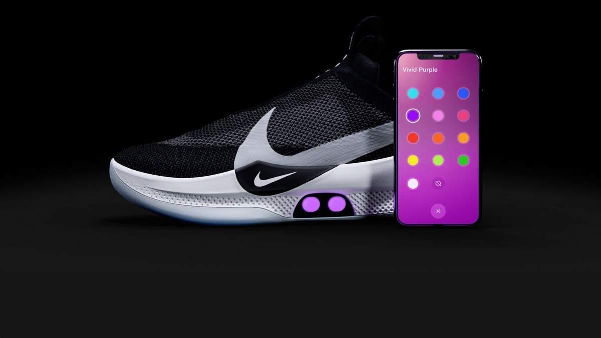 Розумні кросівки Nike Adapt BB