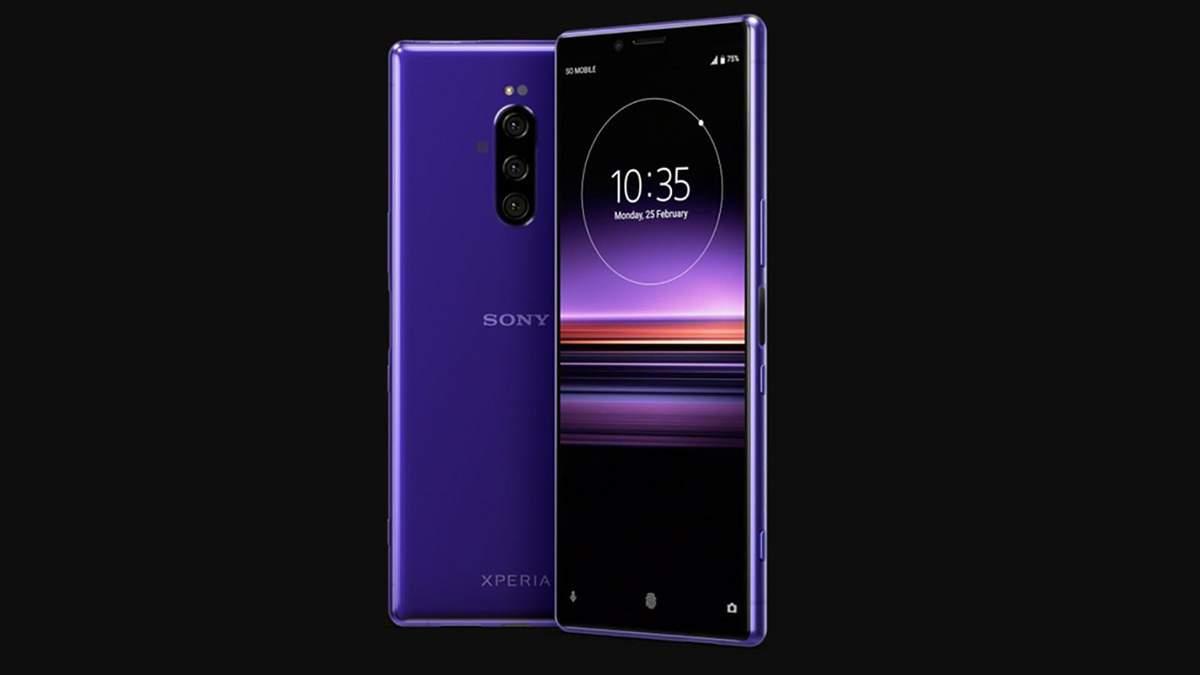 Sony Xperia 1: фото, характеристики, дата анонсу, ціна