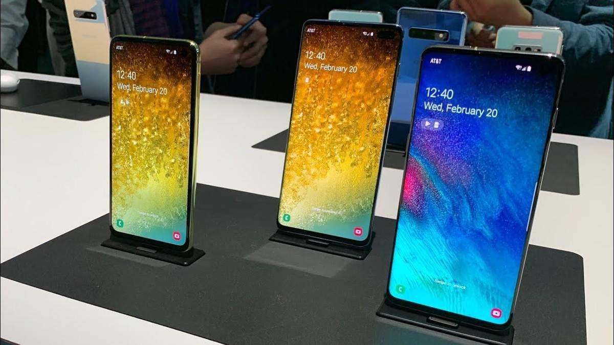 Партии на всех не хватит: украинцы активно раскупают смартфон Samsung Galaxy S10