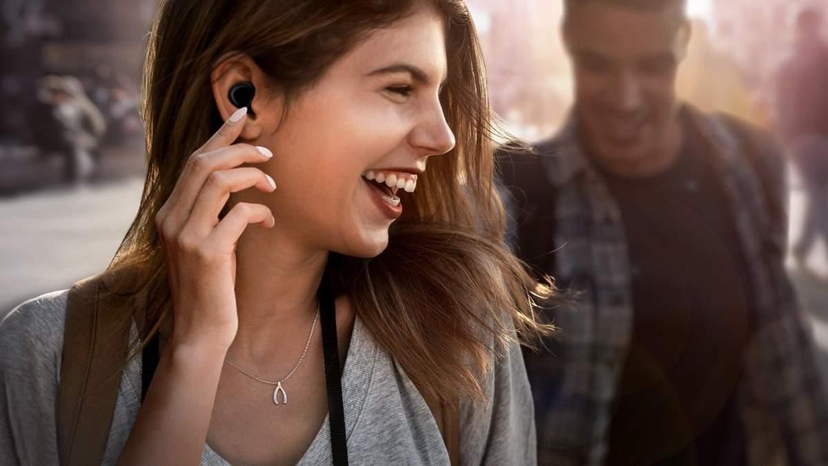 Стильні бездротові навушники Samsung Galaxy Buds: характеристики та ціна в Україні