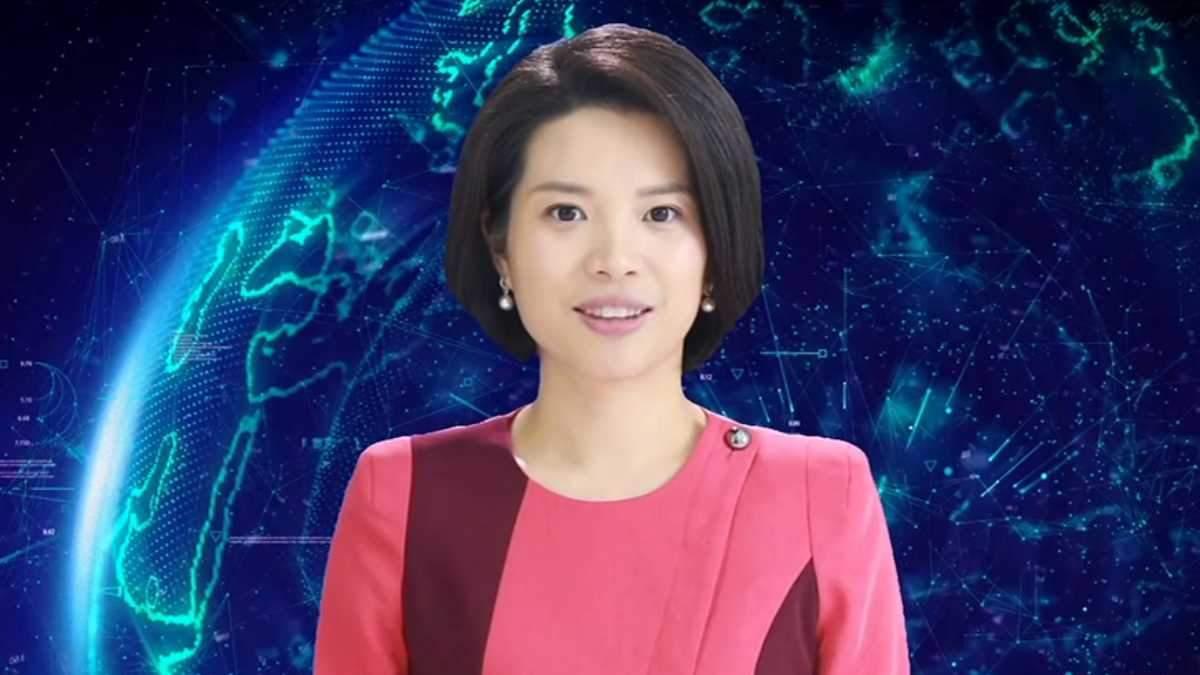 Виртуальная ведущая Синь Сяомен