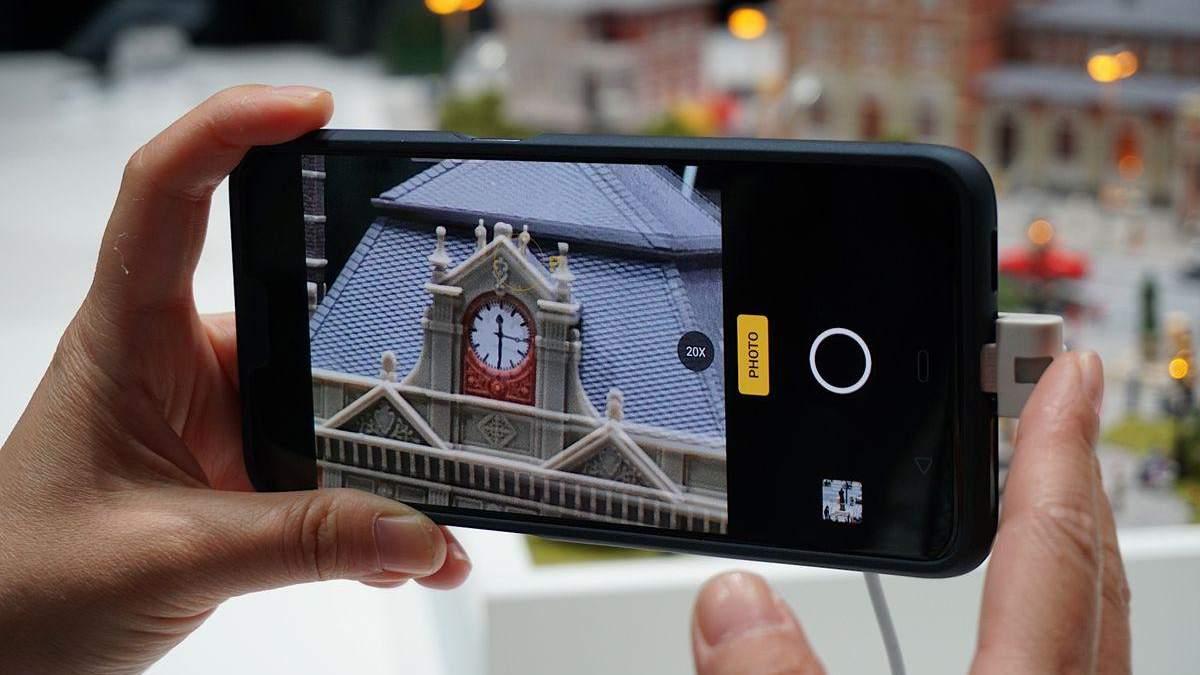 Oppo показала камеру с 10-кратным зумом