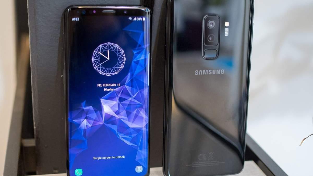 Смартфони Samsung Galaxy S9 почали швидко розряджатись: в чому причина