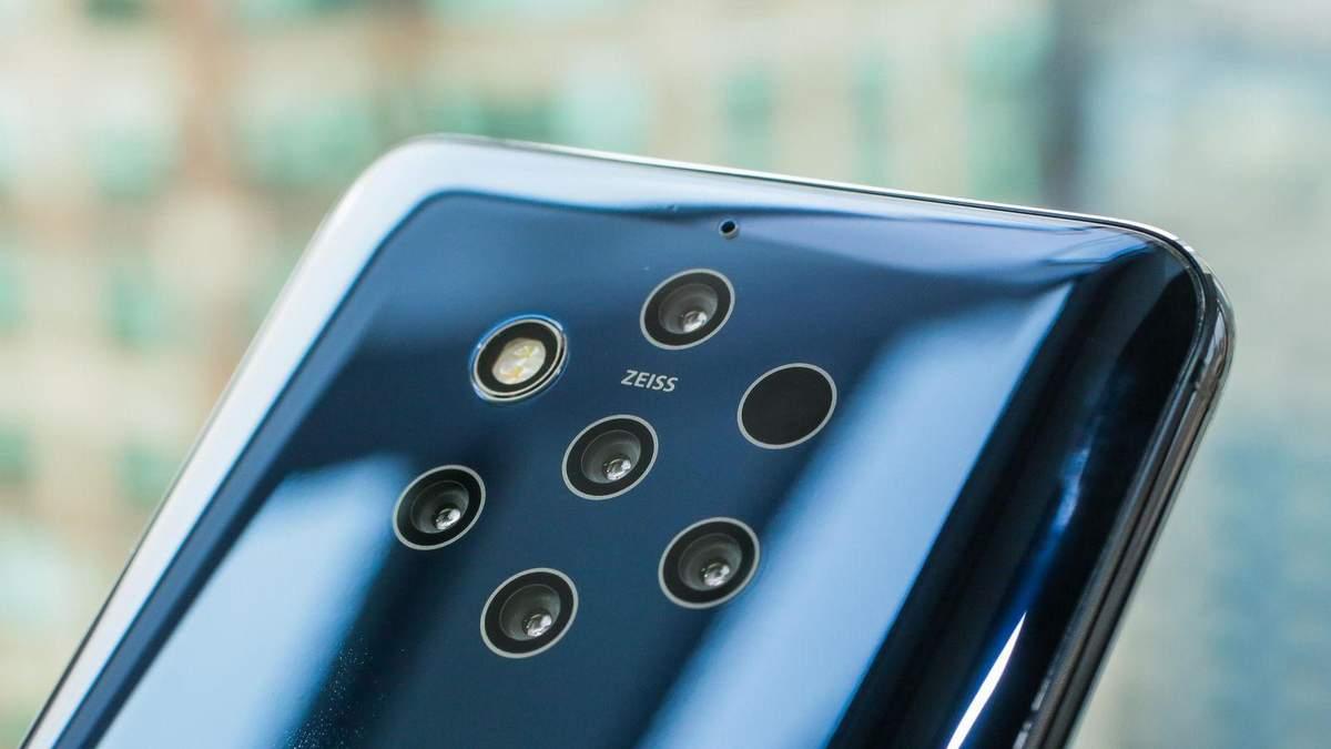 Nokia 9 PureView: перші фото на смартфон