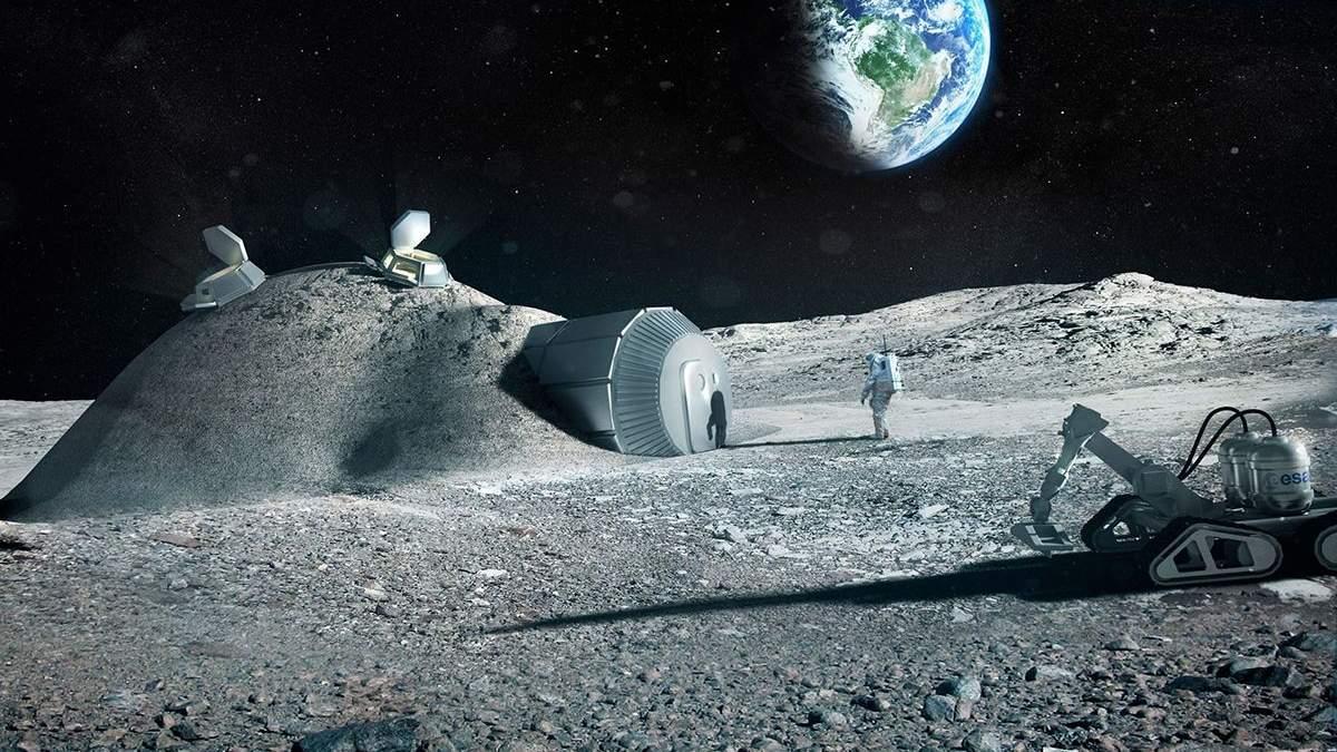 NASA хочет привлечь украинские предприятия к исследованию Луны