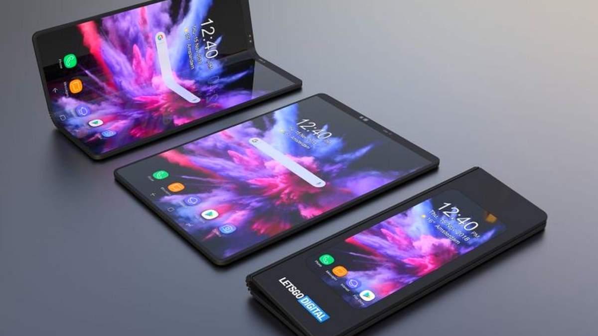 Следующий iPhone может получить гибкий экран: Samsung поделилась разработкой