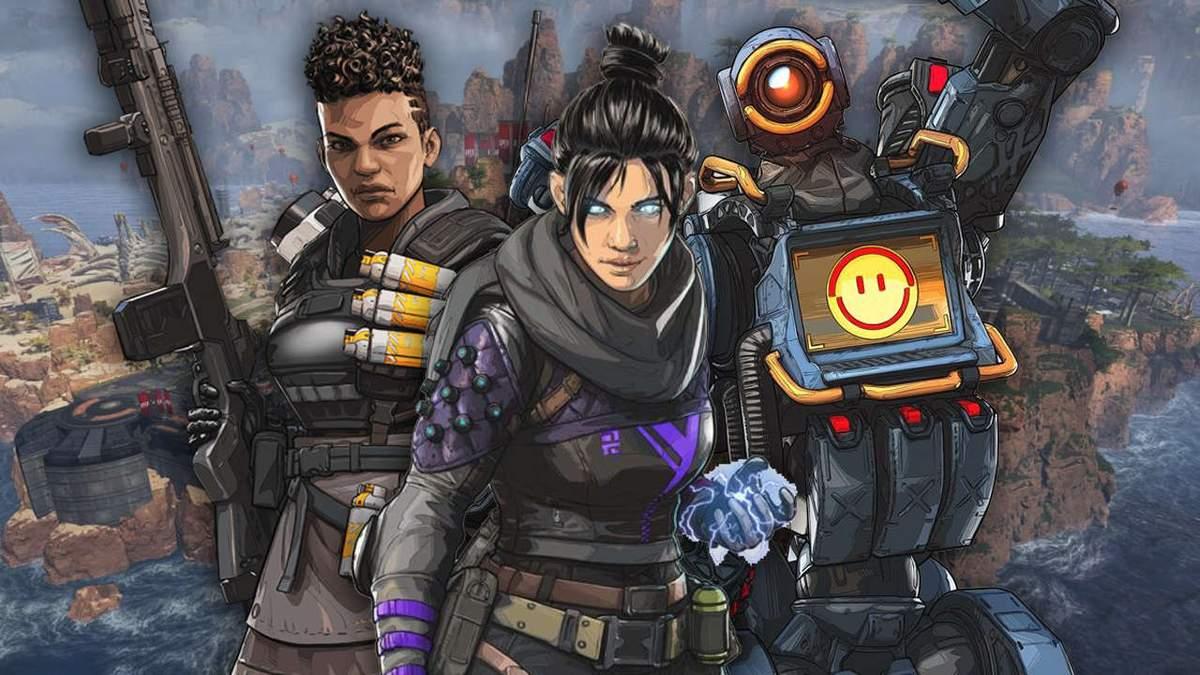 Разработчики поделились невероятными достижениями игры Apex Legends