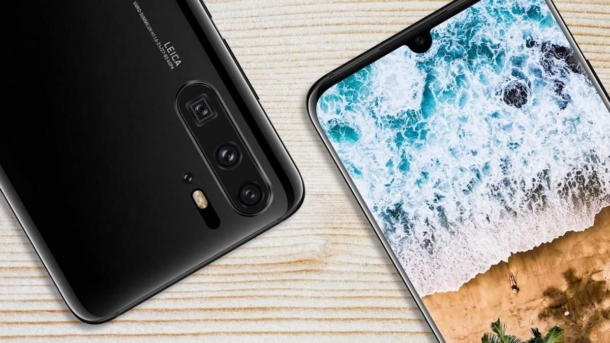 Смартфон Huawei P30 показали на видео