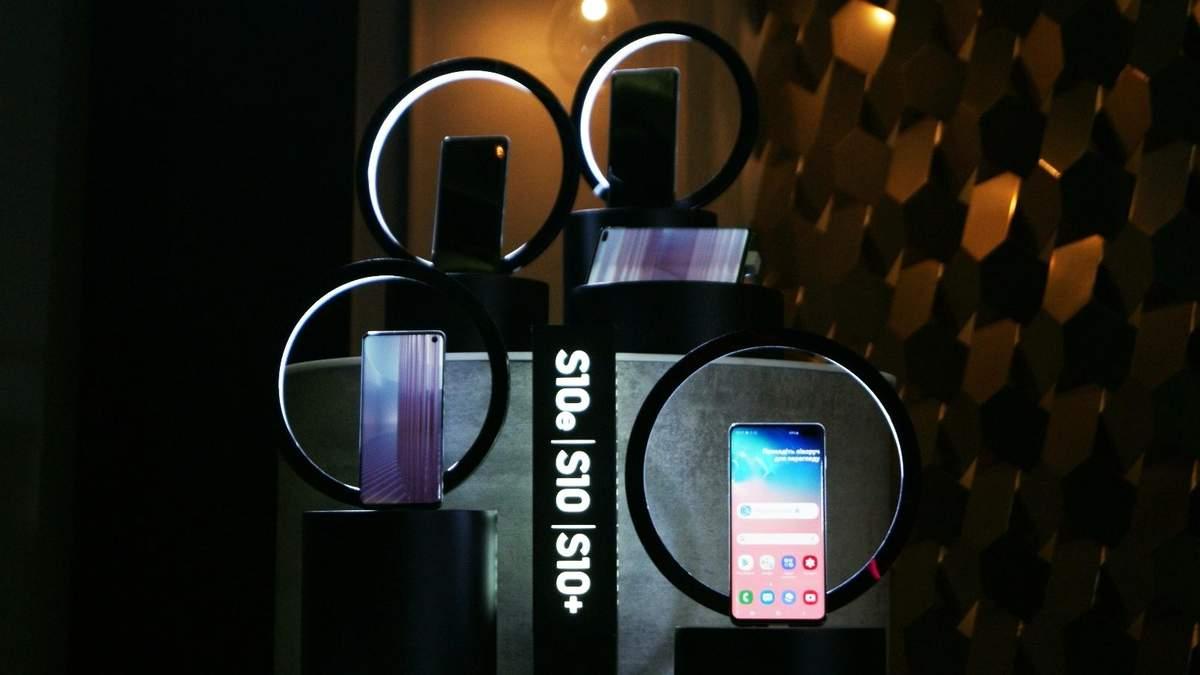 Смартфони Samsung Galaxy S10 надійшли у продаж в Україні: ціни