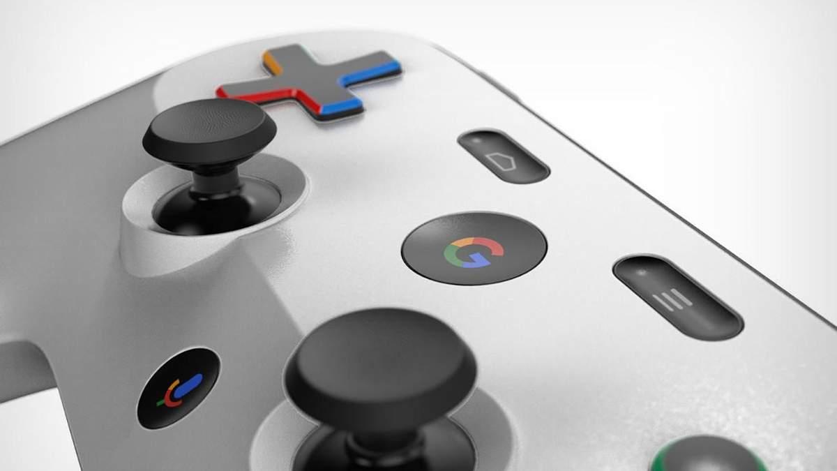 Как будет выглядеть контроллер для Google Project Stream: фото