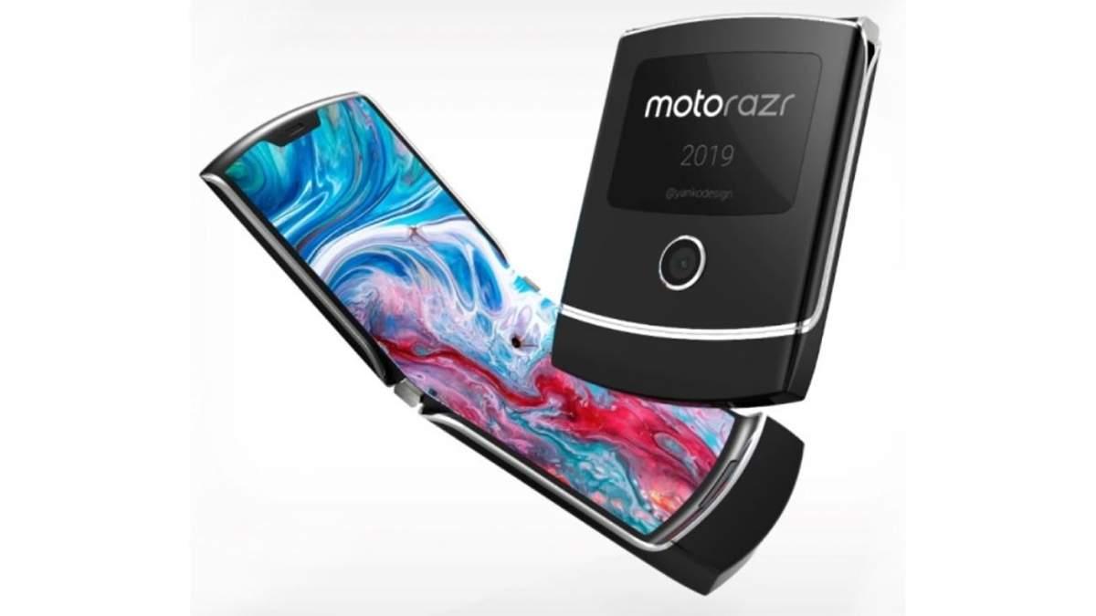 """Дорогой """"середнячок"""": появились характеристики гибкого смартфона Motorola Razr"""