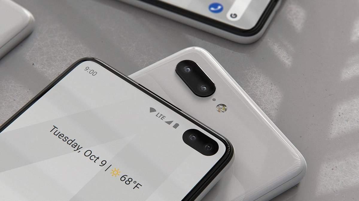 Як виглядатимуть смартфони Google Pixel 4 та Pixel 4 XL: фото