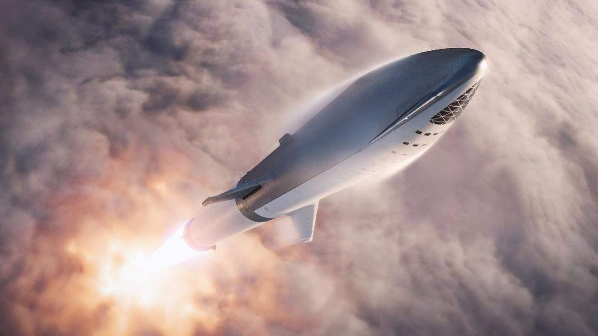 Ілон Маск розповів про нові випробування зорельота SpaceX Starship