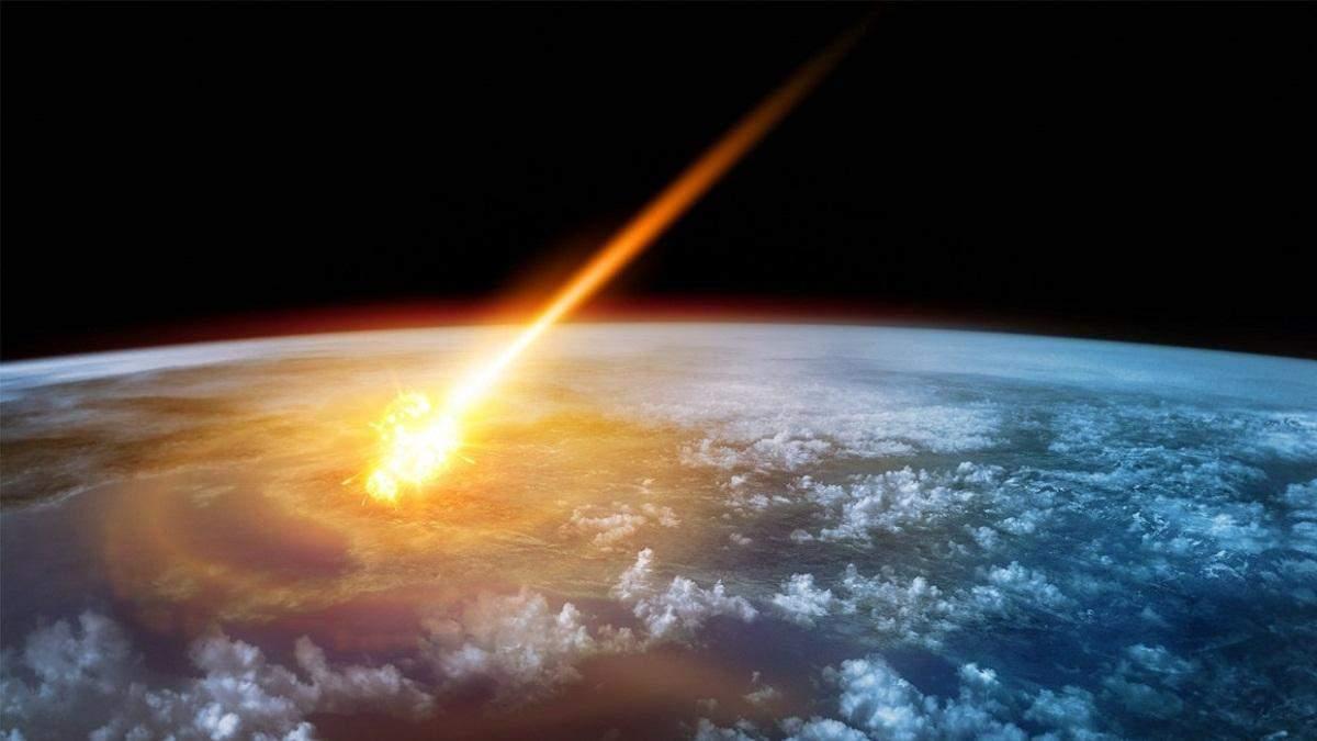 Над територією Росії вибухнув великий метеорит