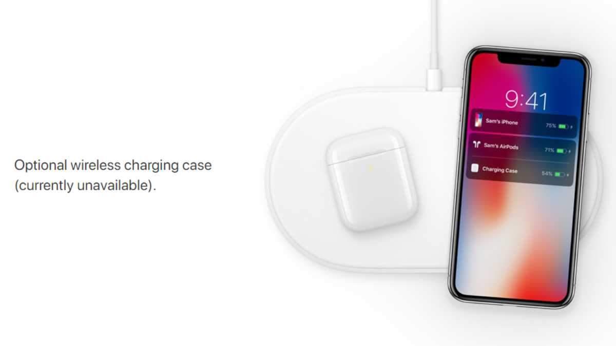 Apple засвітила бездротову зарядку  AirPower