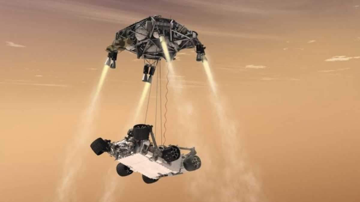 NASA протестовало марсоход для миссии Mars 2020: эффектные фото