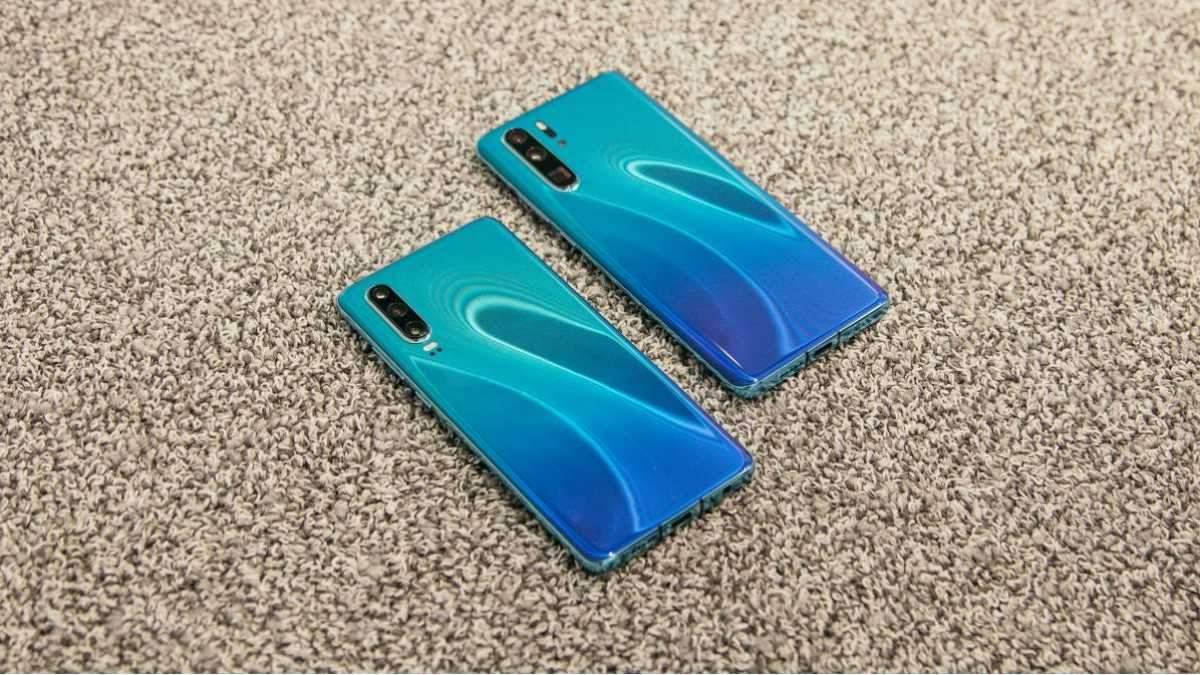 Смартфоны Huawei P30 и P30 Pro - характеристики, цена