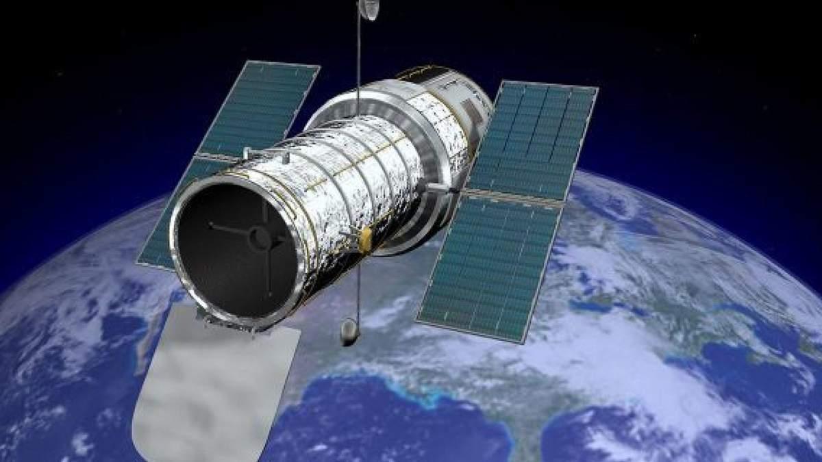 Hubble сфотографировал процесс распада астероида