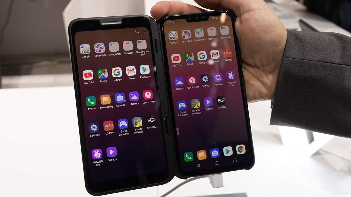 LG оголосила дату старту продажів та ціну смартфона V50 ThinQ 5G