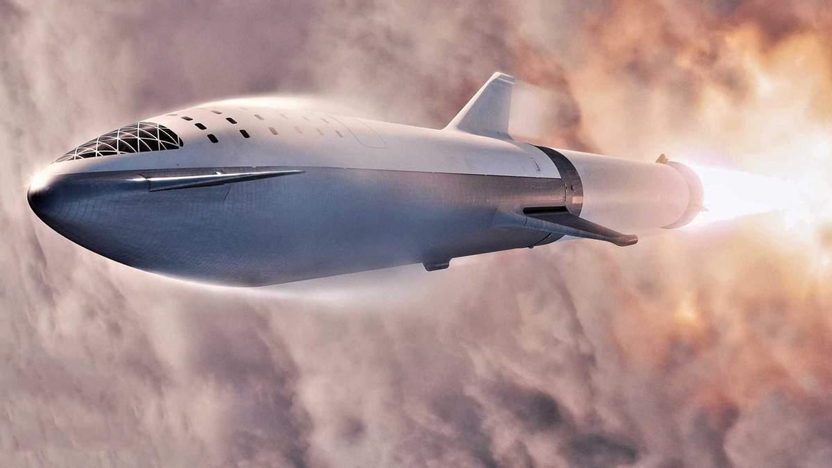 """SpaceX впервые испытала """"марсианский корабль"""": фото и видео"""