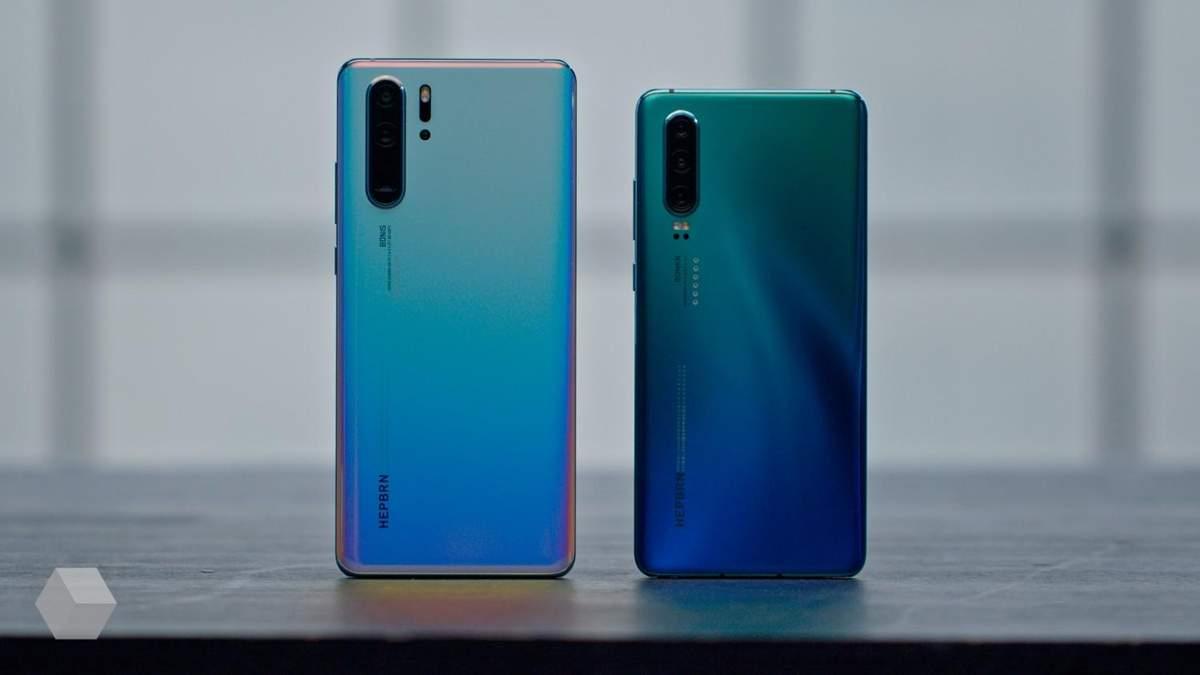 Флагманські смартфони Huawei P30 Pro та P30 офіційно надійшли у продаж в Україні