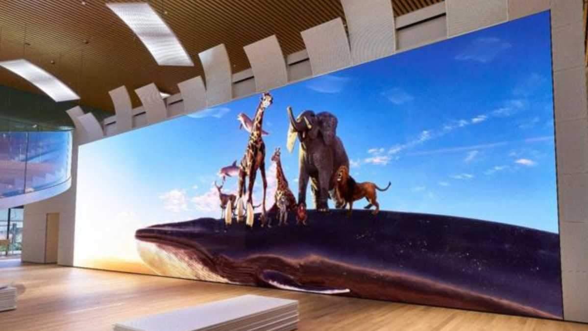 Sony створила суперекран з роздільною здатністю 16К