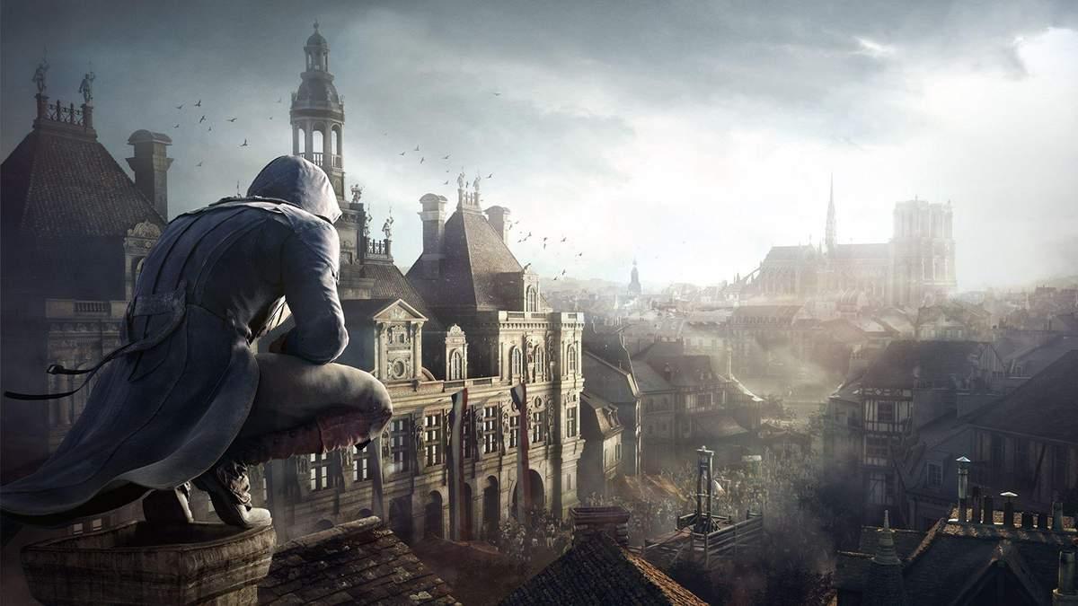 Ubisoft безкоштовно роздає гру Assassin's Creed Unity