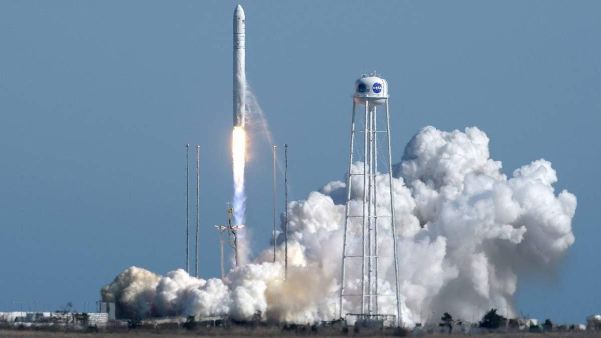 NASA запустило ракету з українськими компонентами: фото та відео