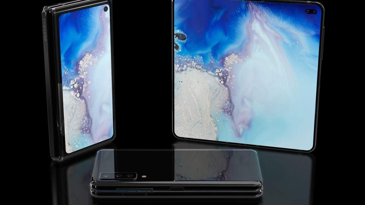 Samsung Galaxy Fold  почав ламатись - фото і відео