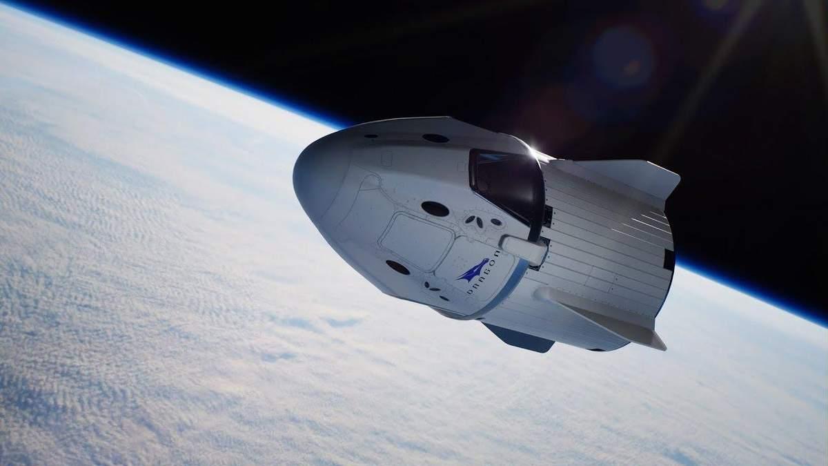 Космический корабль Crew Dragon взорвался во время тестирования – видео