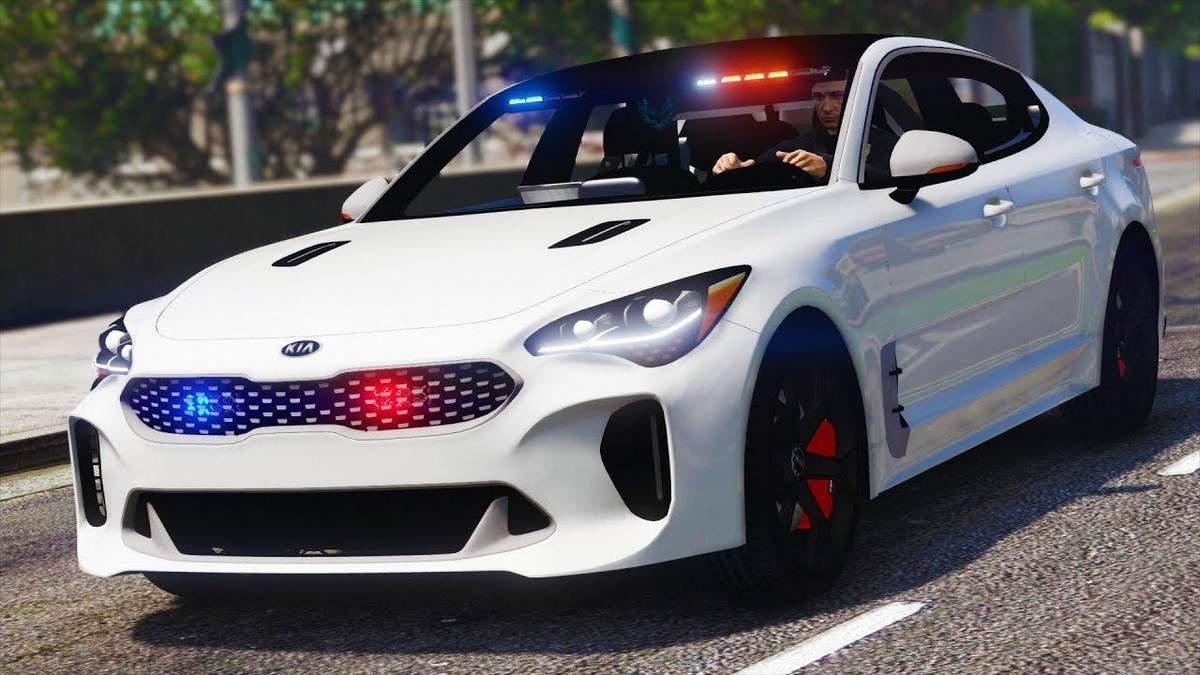 """Fujitsu та Kia розробляють """"розумне"""" поліцейське авто"""