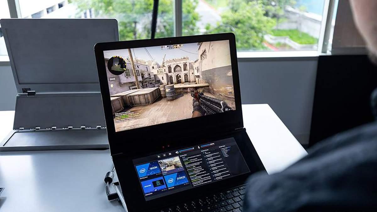 Intel анонсировала геймерский ноутбук с необычным дизайном: фото и характеристики