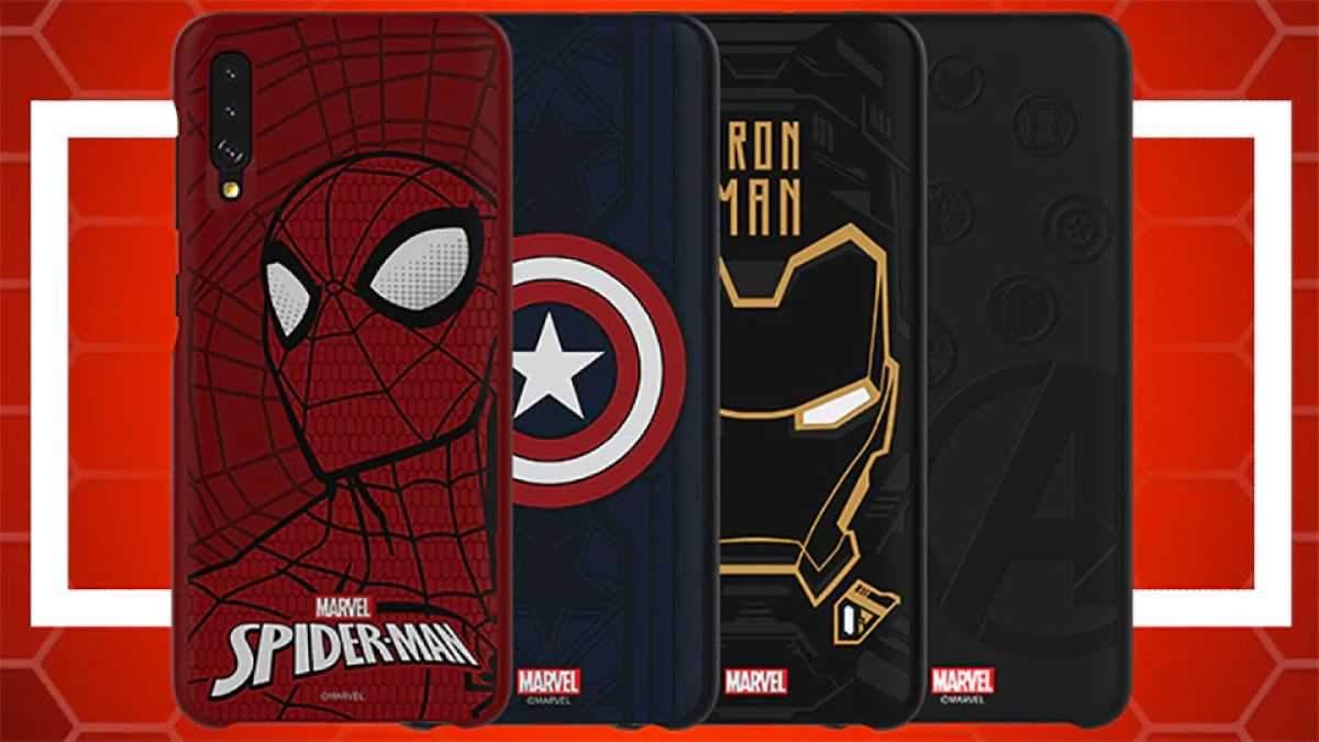 Samsung створила чохли із зображеннями супергероїв Marvel