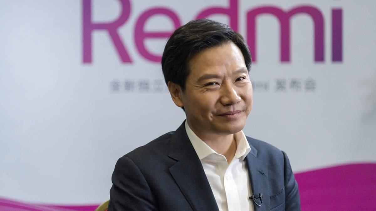 Глава Xiaomi Лей Цзюнь