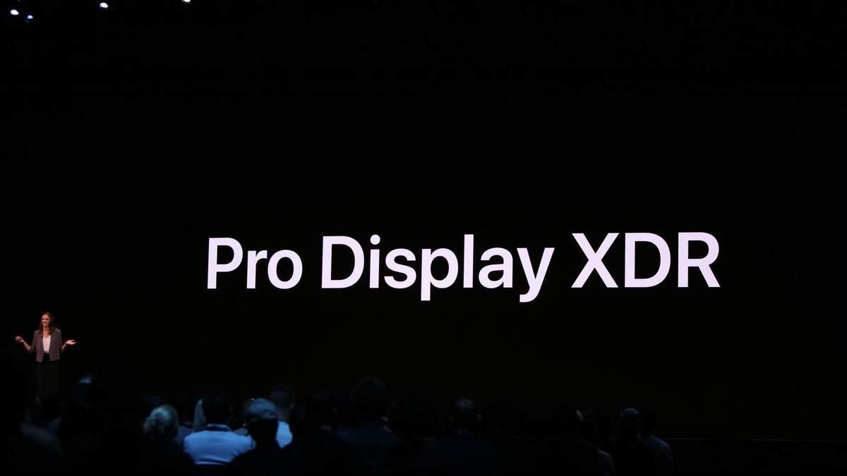 Apple Pro Display XDR: характеристики та ціна