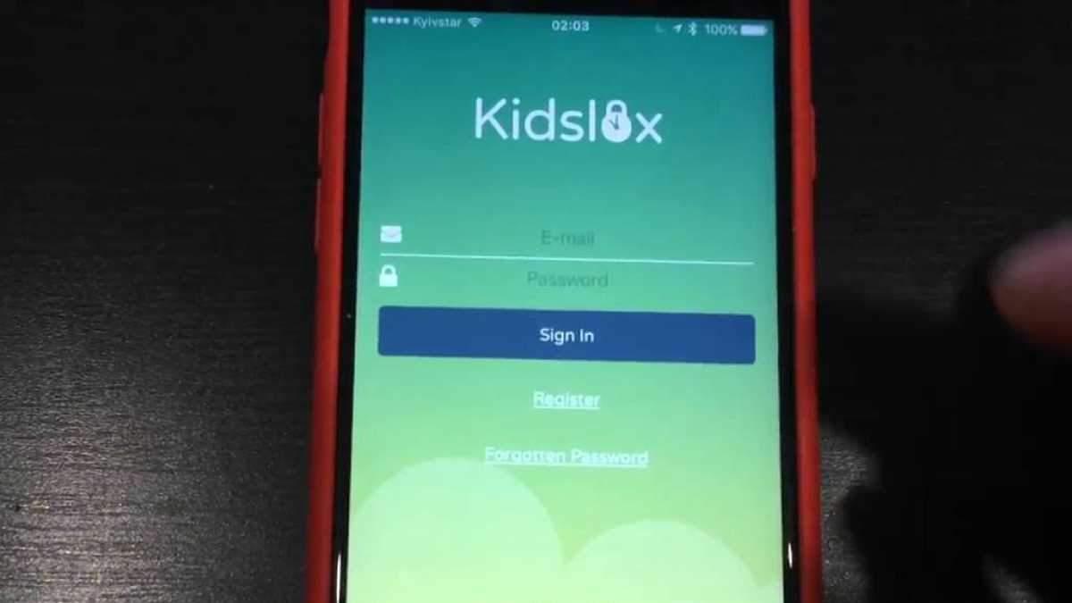 Конфликт между Kidslox и Apple
