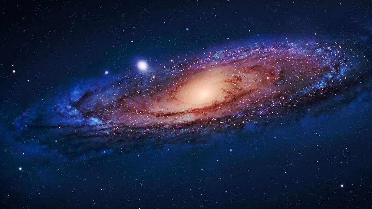 """Hubble """"поймал"""" галактику, которая приближается к Млечному Пути"""