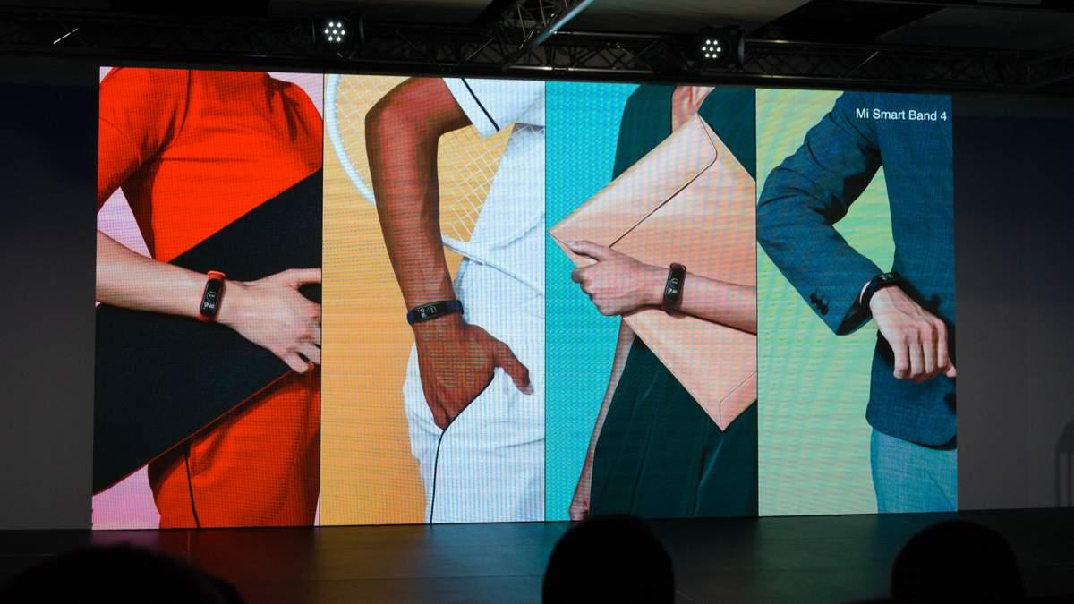 Офіційна презентація Xiaomi Mi Band 4: характеристики і ціна фітнес-трекера