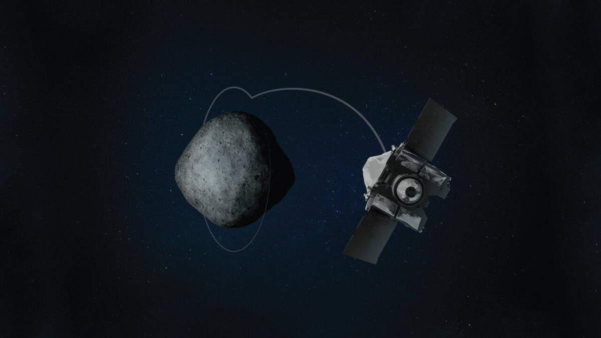 Фото дня: астероїд Бенну зняли на максимально близькій відстані