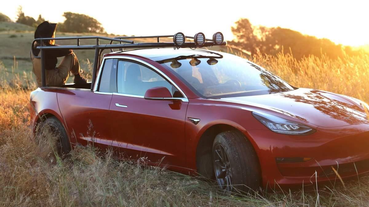Показали перший пікап компанії Tesla – Truckla: відео