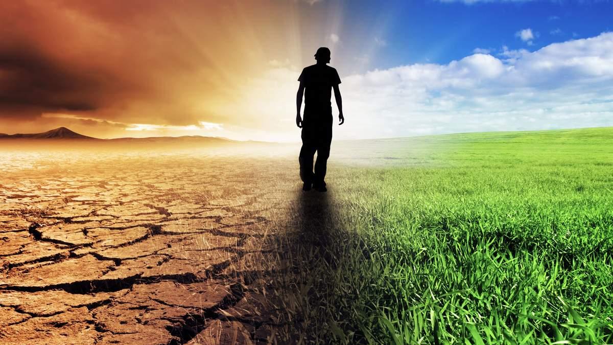 Сайт показывает изменения климата
