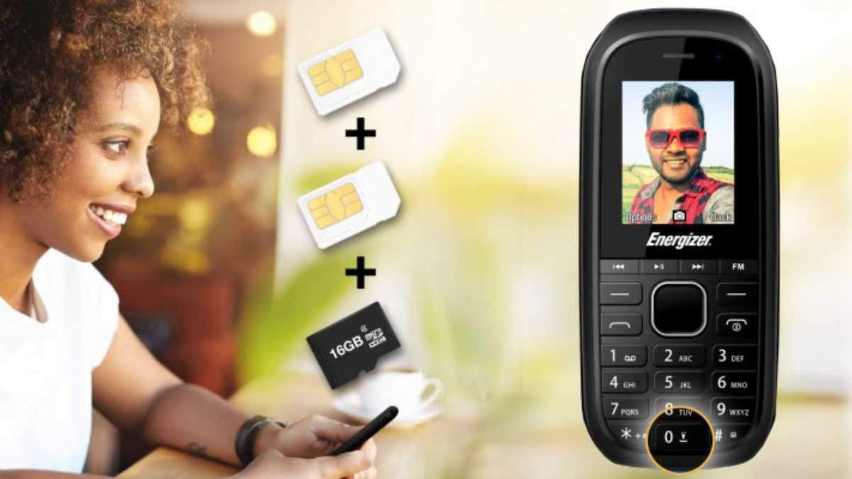 Представили кнопковий телефон Energizer E12 з потужною батареєю за ціною 12 євро